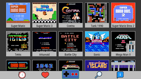 NES Emulator - Arcade Classic Games APK screenshot thumbnail 1