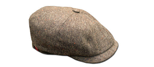casquette éclair tweed barnstormer made in france