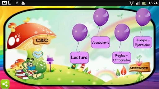 Learn to read in Spanish screenshot 1