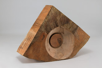 "Photo: Ed Karch 11"" x 8"" sculpted piece (side 2) [ambrosia red maple]"