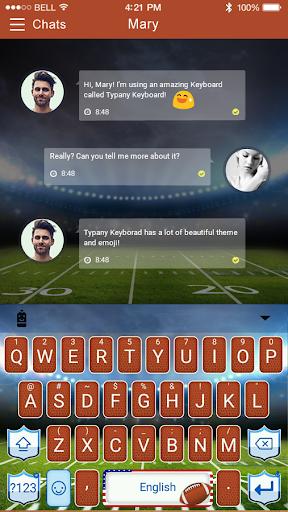 mod American Football Emoji Theme 2.5 screenshots 2