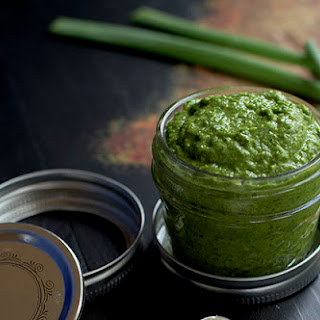 Four Greens Pesto {AIP, paleo, Whole30}