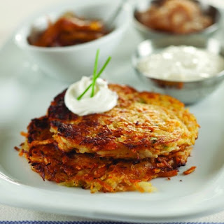 Yukon Gold & Sweet Potato Latkes