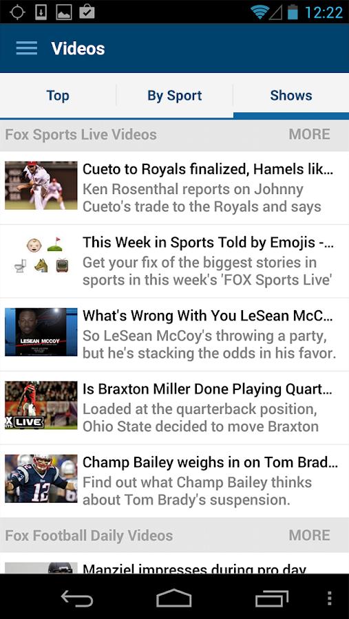 FOX Sports Mobile- screenshot