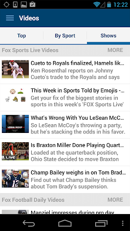 FOX Sports Mobile 2.0.4 screenshot 237195