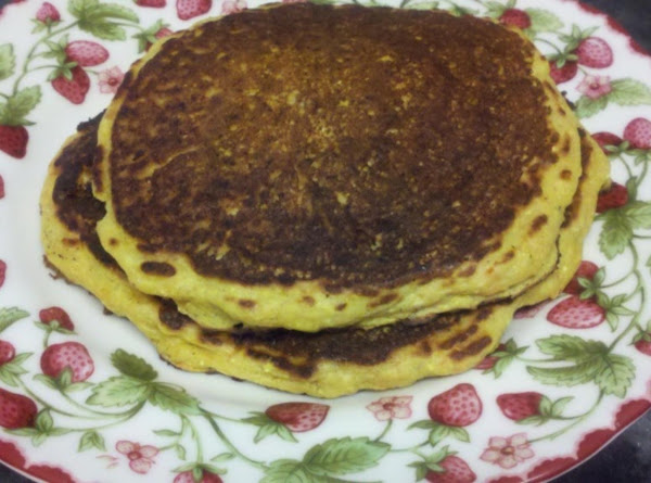 Carrot-corn Pancakes Recipe
