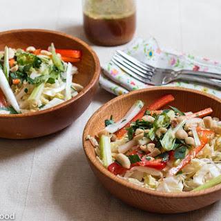 Asian Inspired Napa Cabbage Salad