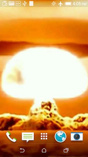 Nuclear Bomb Video Wallpaper