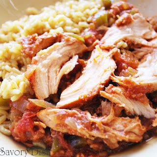 Sweet and Spicy Crockpot Chicken.