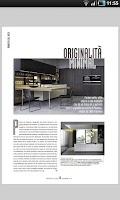Screenshot of Progetto Cucina