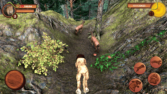 Wild Lion Simulator – Animal Family Survival Game 2