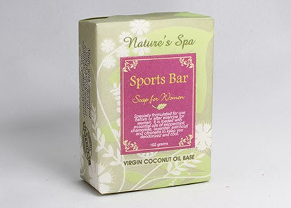 Soprts Bar soap for woman