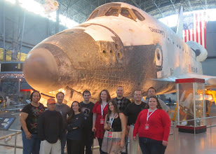 Photo: Group Spacetweep Photo! Some serious nerd power in this room...! :)