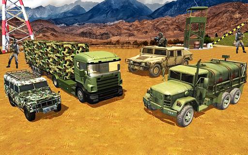 Army Transport Truck Driver : Military Games 2019 apkmind screenshots 3