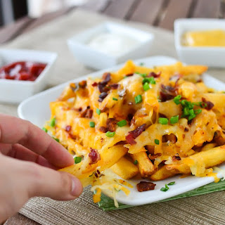 Bacon Cheese Fries.
