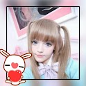 Cute Kawaii Photo Sticker icon
