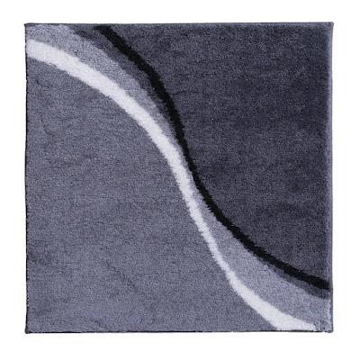 Коврик для ванной комнаты Ridder Barney серый 60х50 см