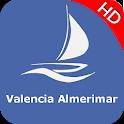 Valencia Almerimar Offline GPS Nautical Charts icon