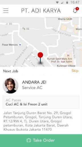 Jasa Connect Field Personell App screenshots 1