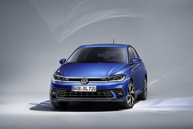 Facelifted Polo features LED headlights as part of a comprehensive update. Picture: SUPPLIED