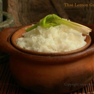 Thai Lemongrass Rice