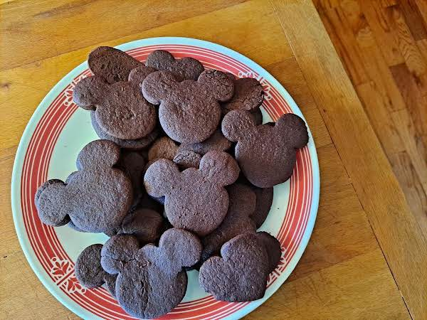 Cut Out Chocolate Cookies