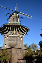 Photo: The only windmill in Amsterdam