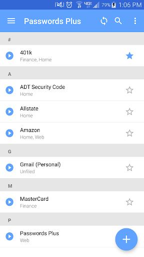 Passwords Plus Password Mgr screenshot 2
