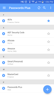 Passwords Plus Password Mgr- screenshot thumbnail