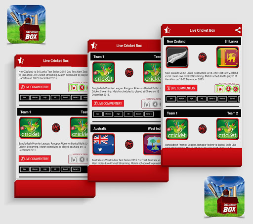Live Cricket Box 1.5 screenshots 2