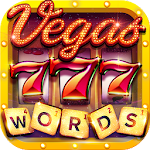 Vegas Downtown Slots - Slot Machines & Word Games Icon