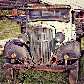 memories of yesteryear by Randall Langenhoven - Transportation Automobiles ( car, vintage, vehicle, transportation, chev, collectable, classis, antique )