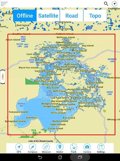 Lake of the Woods Offline GPS Charts screenshot 20