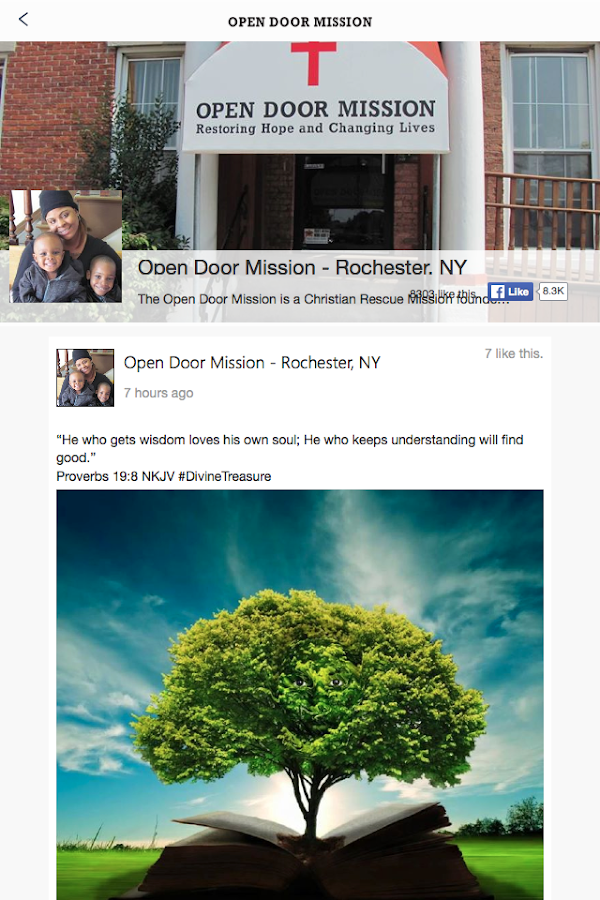 Open Door Mission Roc NY- screenshot