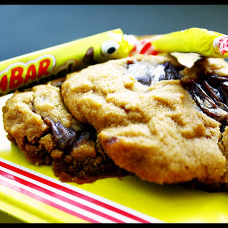 Cookies with Caramel Candy Bars Recipe