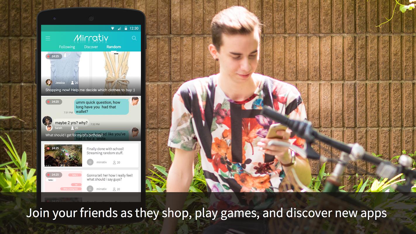 Mirrativ: Live Stream Any App screenshots