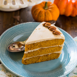 Butterscotch Pumpkin Cake with Butterscotch Icing