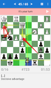 Chess Tactics Art (1400-1600 ELO) App Download For Android 1