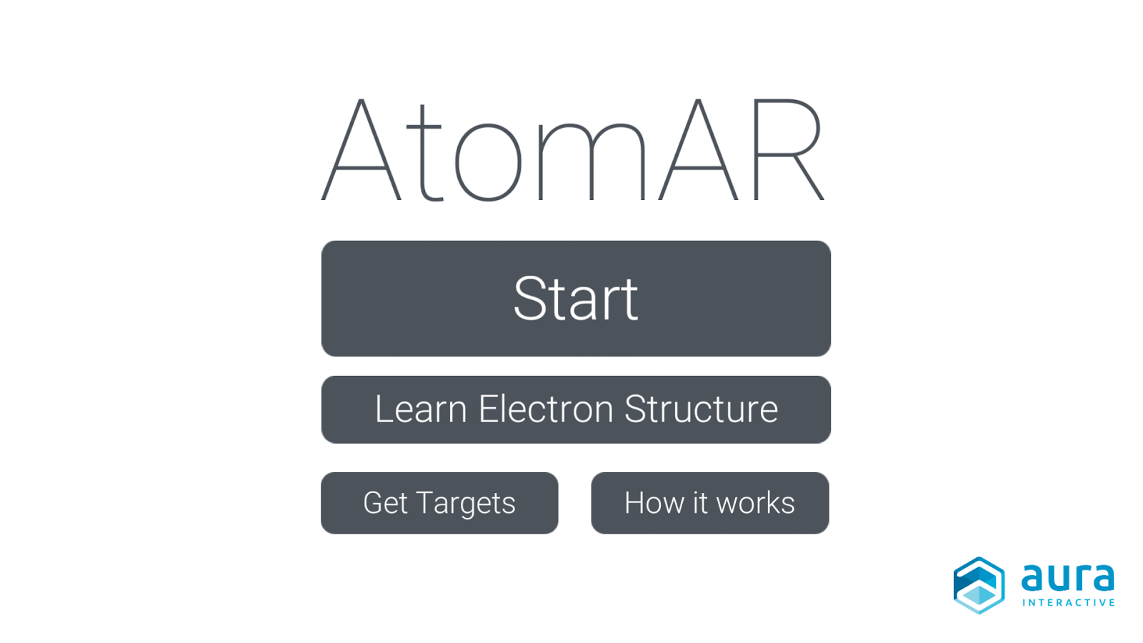 AtomAR by Aura Interactive- screenshot