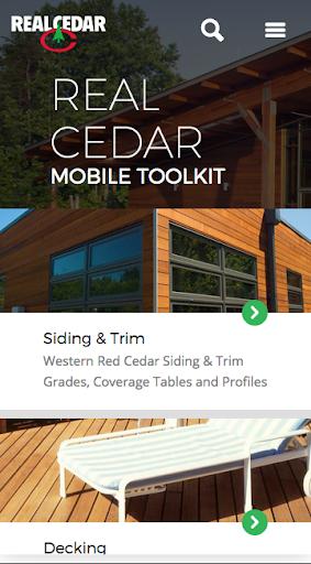 Real Cedar Mobile Toolkit