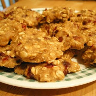 Egg-Free Low-Fat Oatmeal Cookies.