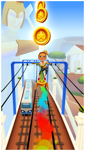 Subway Surfers Greece v1.43.0 (Unlimited Coins & Keys) MOD APK - screenshot