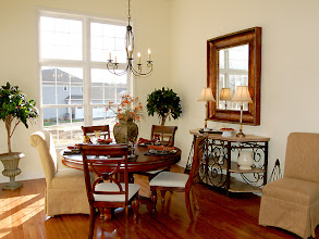 Photo: The dining area in the LEIGHTON model at Brookhaven Estates