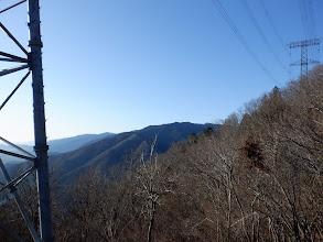 鉄塔からの展望2(ムネ山と奥に池田山)