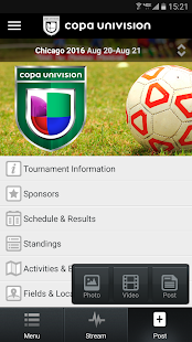 Copa Univision- screenshot thumbnail