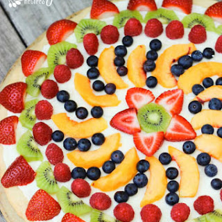 Easy Fruit Pizza.