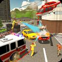 New York Fire Rescue Simulator 2019 icon