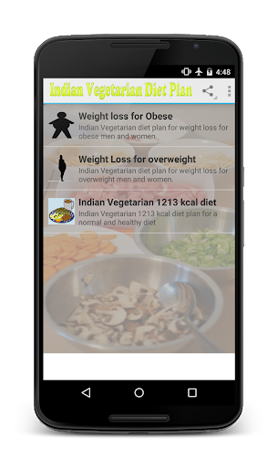 Indian vegetarian weight loss 2.1 screenshots 1