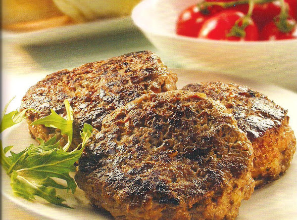 Cheese Filled Beef Patties Recipe
