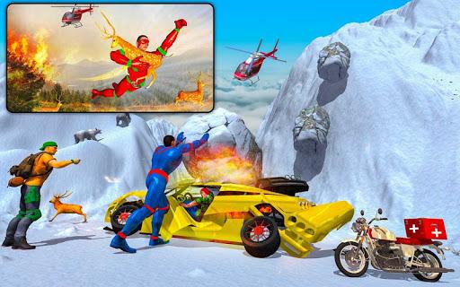 Light Speed Robot Doctor Hero - Rescue & Survival 2.4 Screenshots 18